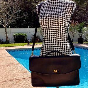 Business Shoulder/Hand Leather Briefcase